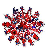 Bộ 35 miếng Sticker hình dán Người nhện