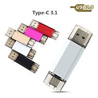 High Speed Type C USB3.1 U Disk L17- Aluminum Alloy Shell USB Flash Drive