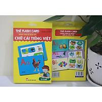 Thẻ Flash Card Thông Minh- Bé Nhận Biết Thế Chữ Cái Tiếng Việt