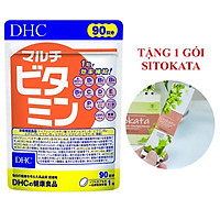 Viên Uống Vitamin Tổng Hợp DHC Multi Vitamin 90 Ngày (Tặng Kèm 1 Gói Bột Cần Tây Sitokata)