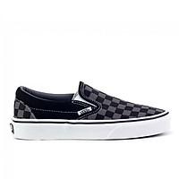 Giày Vans Slip-On Black/Pewter Checkerboard - VN000EYEBPJ
