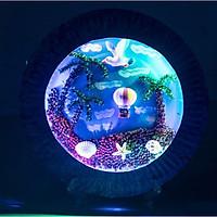 Tô màu nước 3d sáng tạo