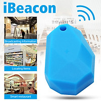 IBeacons Type Bluetooth 4.0 Module NRF51822 Chipset IBeacon with Silicon Case-Blue