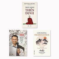 Combo 3 cuốn: Con Đường Heartfulness - Tim Thiền - Chuyển Hóa Tâm Hồn + Thực hành thiền định + Thiền giữa chợ đời