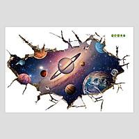 Galaxy - Decal 3D hình dán trang trí 60x90cm