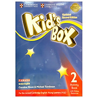 Kid's Box 2nd ed Activity Book with Online Resources Level 2