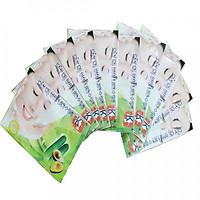 Combo 10 miếng mặt nạ dưỡng da LK chiết xuất Dưa leo + Bơ 50g (Cucumber Butter Mask 50g)