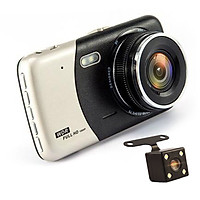 Car DVR Dash Camera Car Traffic Recorder HD Night Vision 1080P Dual Lens Reversing Image Integrative Camera