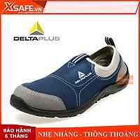 Giày bảo hộ lao động Deltaplus Miami S1P Vải lưới thoáng khí, chống đinh, va đập, trơn trượt, đi công trình, nhà máy