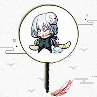 Quạt tròn cổ trang Chuyển Sinh Thành Slime - Tensei Shitara Slime Datta Ken anime cầm tay