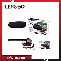 Mic thu âm shotgun LENSGO LYM-DM300 - Chính hãng