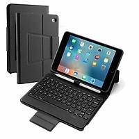Bao Da Bàn Phím Bluetooth Cho iPad Mini 5 Có Đèn Cho Bàn Phím