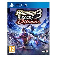 Đĩa Game PlayStation PS4 Sony Warriors Orochi 3 Ultimate - Hàng Nhập Khẩu