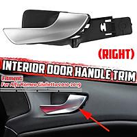 Chrome Inside Inner Trim Door-Pull Handle Right For Alfa Romeo Giulietta 2010-2019