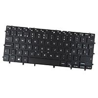 Black Keyboard Backlit - Spanish SP For  XPS 13 9343 9350