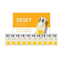 Tinh chất sữa chữa nám da, trắng sáng da Genocell- Reset Skin White Radiance Repair Ampoule (1 hộp 10 ống)