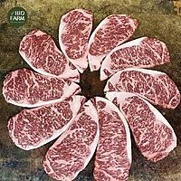 [Chỉ giao HN] Thịt bò Wagyu Full Blood 2GR Úc MB6-7 - Striploin (Thăn lưng cuối) - 1KG