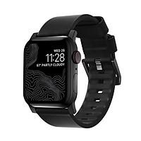 Dây Apple Watch NOMAD Modern Strap Active Leather 44mm/42mm chống nước - Hàng Nhập Khẩu
