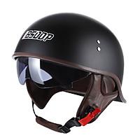 Bike Helmet, Bicycle Cycling Helmet for Men/Women with Concealed Goggles Adjustable Mountain Bike Windproof Sunproof
