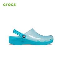 Giày Clog Unisex Crocs Translucent Classic 206908
