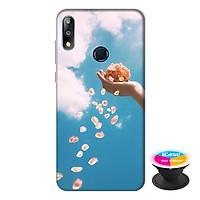 Ốp lưng điện thoại Asus Zenfone Max Pro M2 hình Cánh Hoa Xuân tặng kèm giá đỡ điện thoại iCase xinh xắn - Hàng chính hãng