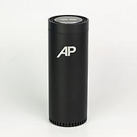 MÁY LỌC KHÔNG KHÍ AP AirPurifier mini model NT-2059, máy lọc không khí sử dụng trong xe ô tô, lõi lọc HEPA sử dụng trong không gian nhỏ lọc sạch bụi mịn PM2.5 (Màu đen) - Hàng nhập khẩu