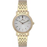 Đồng hồ NEOS N-40577L dây thép vàng