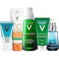 Bộ sản phẩm VICHY Beauty Refresh Box giúp làm sạch, giảm dầu ngừa mụn và bảo vệ tối ưu cho da dầu mụn