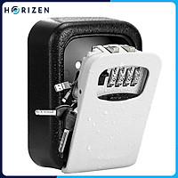 Hộp đựng khóa treo tường 4 mã số lock box dùng cho Airbnb & Homestay, khách sạn, trường học, văn phòng   - Horizen