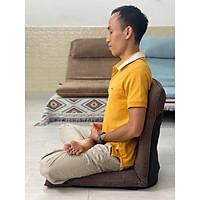 Medi 360 - Ghế ngồi thiền, ghế bệt, ghế tựa lưng không chân đa năng xếp gọn cao cấp