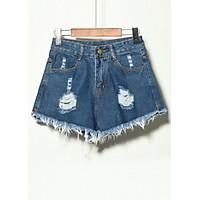 Quần Short Jeans Nữ, Quần Short Nữ Rách
