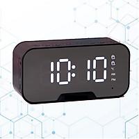 Loa Du Lịch Bluetooth Di Động Không Dây Đa Chức Năng - Tích hợp Đồng Hồ, nhiệt độ, đài FM, giá đỡ điện thoại