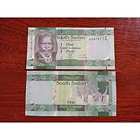 Tờ 1 Pound của đất nước Nam Sudan trước đây, mới 100% - tặng kèm bao lì xì