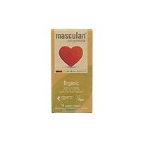 Bao cao su hộp 10 cái Masculan Organic