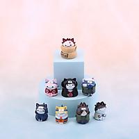 Mô hình Figure MÈO NARUTO cute anime xinh xắn nhân vật hoạt hình trưng bày dễ thương