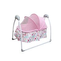Nôi điện tự động điều khiển từ xa kết hợp nhạc trắng ru ngủ cho bé sơ sinh tới 2 tuổi Mastela SG239 - tặng set khăn quàng cổ tam giác