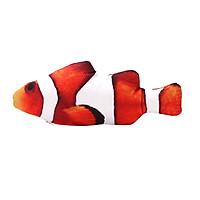 Đồ chơi tương tác vui nhộn mô phỏng hình cá sang trọng thực tế dành cho mèo