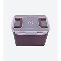Hộp nhựa đựng Kimchi 12L - 16L - Màu Nâu