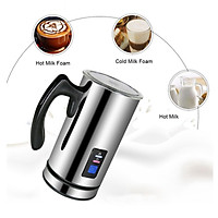 Electric Milk Frother & Steamer for Making Latte ,Cappuccino, Hot Chocolate, Automatic Cold Hot Milk Frother & Warmer Coffee Frother Milk Heater