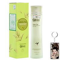 Nước hoa hồng trà xanh Benew dưỡng ẩm, se khít lỗ chân lông Hàn Quốc 150ml + Móc khoá