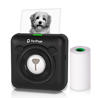 PeriPage Mini Pocket Wireless BT Thermal Printer Picture Photo Label Memo Receipt Paper Printer AR Photo Function with