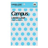 Túi Giấy Lỗ Campus Loose-Leaf Dòng Kẻ Ngang Có Chấm LL-BS70G-50 (50 Tờ)