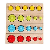 Bộ Montessori Học Màu Sắc Dành Cho Bé