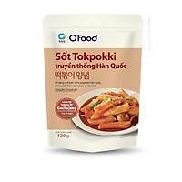 Sốt tokpokki Hàn Quốc O'Food 120g, vị truyền thống và phô mai cay