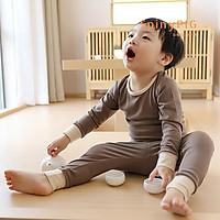 Bộ quần áo cho bé 0-4 tuổi style Nhật Bản cotton dệt kim cực kỳ mềm mại bộ rời dành cho thu đông