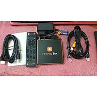 Android Tivi Box FPT Play Box+ NEW 2021 Voice Remote Tặng chuột không dây – Điều khiển tìm kiếm bằng giọng nói Hàng chính hãng