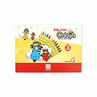Sáp màu Hồng Hà Oringa 12 màu 8105 (10 hộp)
