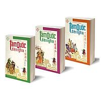 Combo 3 cuốn  Tam quốc diễn nghĩa  (Tập 1 + Tập 2 + Tập 3)