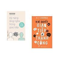 Combo 2 cuốn sách: Kỹ Năng Lắng Nghe Trong Giao Tiếp + 11 Bí Quyết Giao Tiếp Để Thành Công