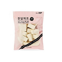 Gói 40 miếng mút tán kem nền Hàn Quốc EH Wedge Puff